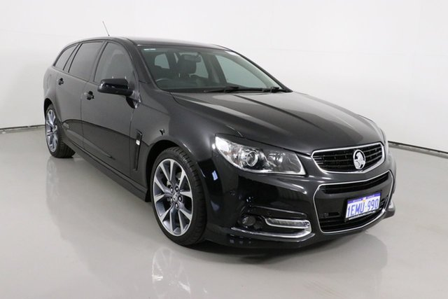 Used Holden Commodore VF SS-V Bentley, 2013 Holden Commodore VF SS-V Black 6 Speed Automatic Sportswagon