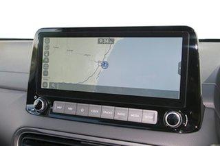 2021 Hyundai Kona Os.v4 MY21 Highlander 2WD Atlas White & Black Roof 8 Speed Constant Variable Wagon