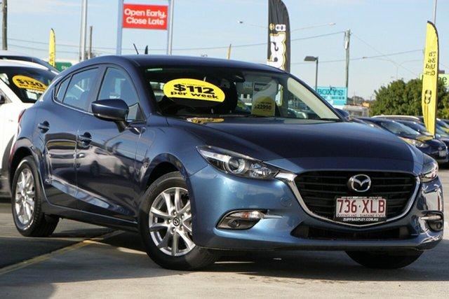 Used Mazda 3 BN5478 Maxx SKYACTIV-Drive Aspley, 2017 Mazda 3 BN5478 Maxx SKYACTIV-Drive Blue 6 Speed Sports Automatic Hatchback