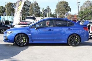 2017 Subaru WRX V1 MY18 STI AWD Premium WR Blue 6 Speed Manual Sedan.