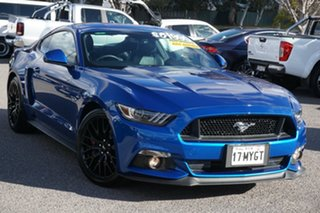 2016 Ford Mustang FM GT Fastback SelectShift Blue 6 Speed Sports Automatic Fastback.