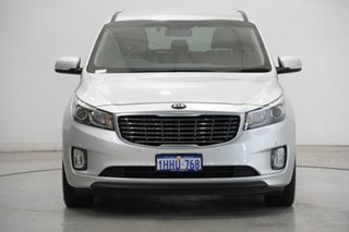 2016 Kia Carnival YP MY16 SLi Silver 6 Speed Sports Automatic Wagon.