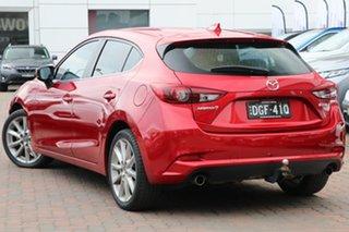 2016 Mazda 3 BN5438 SP25 SKYACTIV-Drive GT Red 6 Speed Sports Automatic Hatchback.