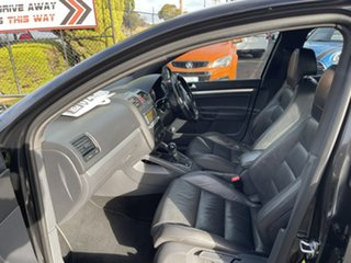 2009 Volkswagen Golf V MY09 GTI DSG Black 6 Speed Sports Automatic Dual Clutch Hatchback