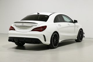 2019 Mercedes-AMG CLA45 117 MY18.5 4Matic White 7 Speed Automatic Coupe