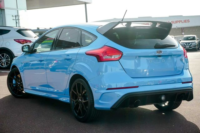 Used Ford Focus LZ RS AWD Limited Edition Osborne Park, 2018 Ford Focus LZ RS AWD Limited Edition Blue 6 Speed Manual Hatchback