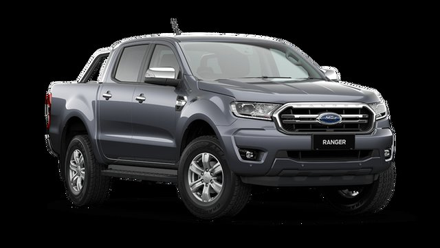 Demo Ford Ranger PX MkIII 2021.25MY XLT Hamilton, 2021 Ford Ranger PX MkIII 2021.25MY XLT Meteor Grey 6 Speed Sports Automatic Double Cab Pick Up