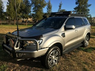 2016 Ford Everest UA Trend Silver Sports Automatic.