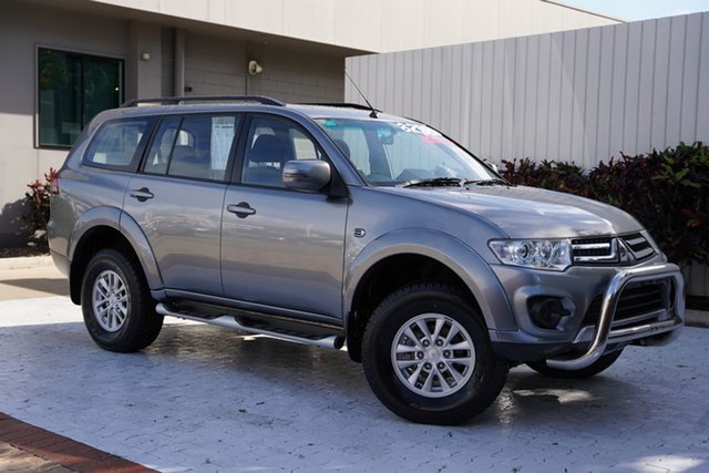 Used Mitsubishi Challenger PC (KH) MY14 Cairns, 2014 Mitsubishi Challenger PC (KH) MY14 Titanium Grey 5 Speed Sports Automatic Wagon