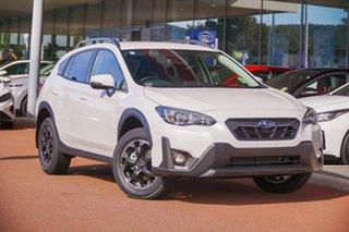 2021 Subaru XV G5X 2.0I White Constant Variable SUV.