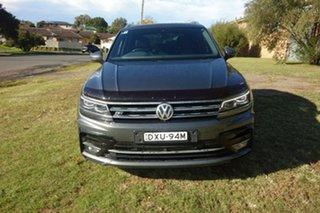 2018 Volkswagen Tiguan 5N MY18 162TSI DSG 4MOTION Highline Grey 7 Speed Sports Automatic Dual Clutch.