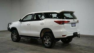 2018 Toyota Fortuner GUN156R GX White 6 Speed Automatic Wagon.