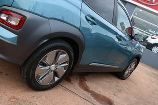 2019 Hyundai Kona OSEV.2 MY20 Elite Electric Blue 1 Speed Automatic Wagon