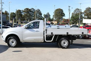 2019 Nissan Navara D23 S4 MY19 RX 4x2 Brilliant Silver 6 Speed Manual Cab Chassis.