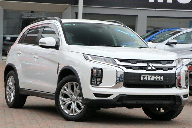 Used Mitsubishi ASX XC MY19 LS 2WD Parramatta, 2019 Mitsubishi ASX XC MY19 LS 2WD Starlight 6 Speed Constant Variable Wagon