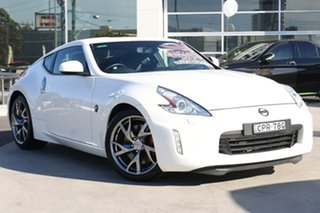 2013 Nissan 370Z Z34 MY13.5 Pearl White 6 Speed Manual Coupe.