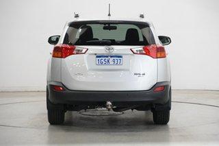 2013 Toyota RAV4 ASA44R GX AWD Silver 6 Speed Sports Automatic Wagon