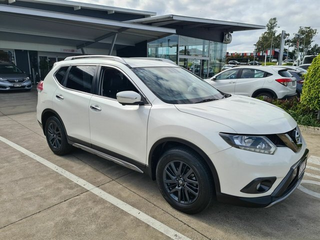 Used Nissan X-Trail T32 ST-L X-tronic 2WD N-SPORT Black Yamanto, 2016 Nissan X-Trail T32 ST-L X-tronic 2WD N-SPORT Black White 7 Speed Constant Variable Wagon