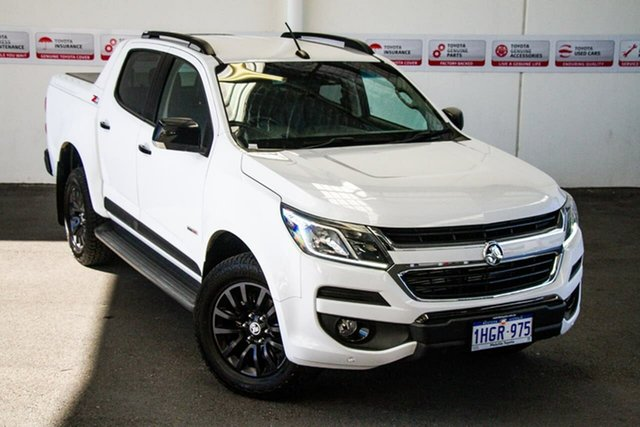 Pre-Owned Holden Colorado RG MY18 Z71 (4x4) Myaree, 2017 Holden Colorado RG MY18 Z71 (4x4) White 6 Speed Automatic Crew Cab Pickup