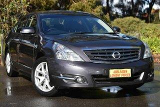 2011 Nissan Maxima J32 250 X-tronic ST-L Grey 6 Speed Constant Variable Sedan.