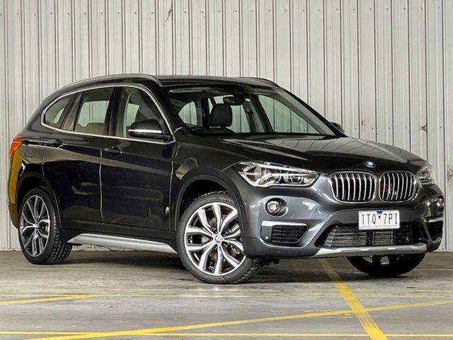 Used BMW X1 F48 xDrive25i Steptronic AWD Moorabbin, 2019 BMW X1 F48 xDrive25i Steptronic AWD Grey 8 Speed Sports Automatic Wagon