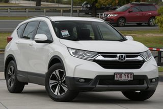 2018 Honda CR-V RW MY18 VTi FWD White 1 Speed Constant Variable Wagon.