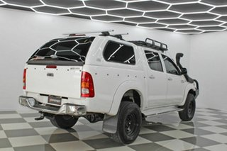 2009 Toyota Hilux KUN26R 09 Upgrade SR5 (4x4) White 4 Speed Automatic Dual Cab Pick-up