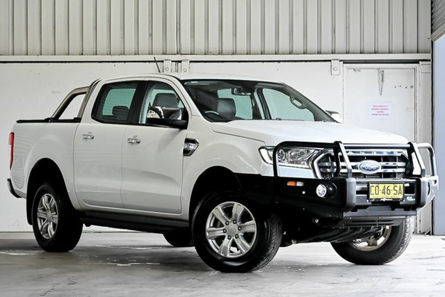 Used Ford Ranger PX MkII 2018.00MY XLT Double Cab Laverton North, 2018 Ford Ranger PX MkII 2018.00MY XLT Double Cab White 6 Speed Sports Automatic Utility