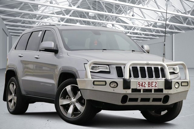 Used Jeep Grand Cherokee WK MY14 Limited (4x4) Eagle Farm, 2014 Jeep Grand Cherokee WK MY14 Limited (4x4) Grey 8 Speed Automatic Wagon