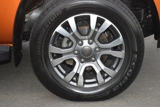 2016 Ford Ranger PX MkII Wildtrak Double Cab Orange 6 Speed Manual Utility