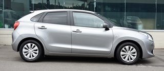 2021 Suzuki Baleno Silver Automatic Sedan.
