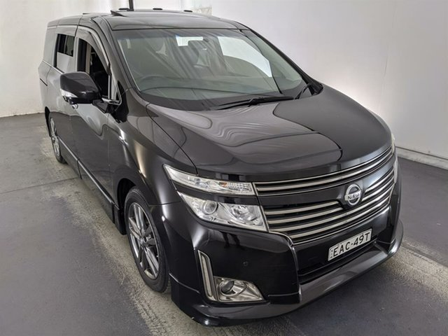 Used Nissan Elgrand PE52 Highway Star Premium Maryville, 2011 Nissan Elgrand PE52 Highway Star Premium Black 6 Speed Constant Variable Wagon