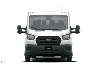 2021 Ford Transit VO 2021.25MY 470E White 6 Speed Manual Double Cab Chassis.