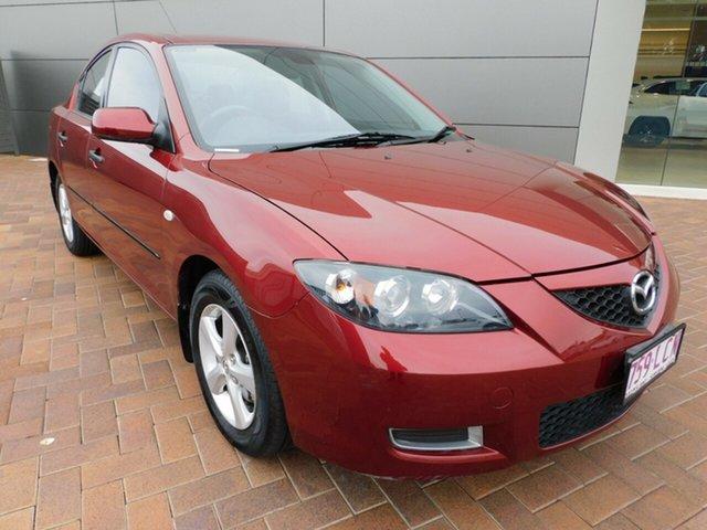 Used Mazda 3 BK10F2 Neo Toowoomba, 2008 Mazda 3 BK10F2 Neo Red 4 Speed Sports Automatic Sedan
