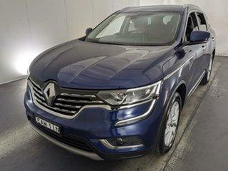 2018 Renault Koleos HZG Zen X-tronic Blue 1 Speed Constant Variable Wagon.