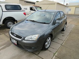 2007 Ford Focus LS LX Grey 4 Speed Automatic Hatchback.