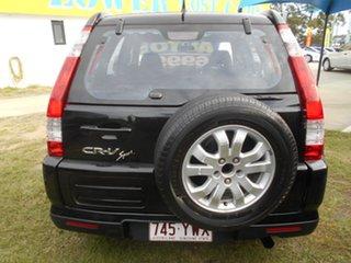 2005 Honda CR-V RD MY2005 Sport 4WD Black 5 Speed Automatic Wagon