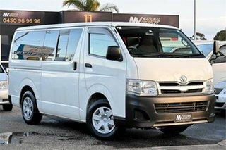 2012 Toyota HiAce KDH201V DX White 4 Speed Automatic Van.