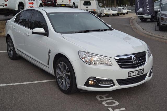 Used Holden Calais VF MY14 Maitland, 2014 Holden Calais VF MY14 White 6 Speed Sports Automatic Sedan