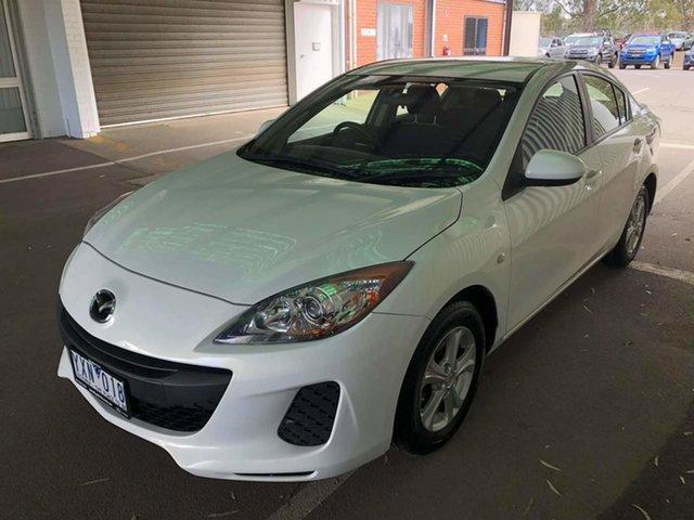 Used Mazda 3 BL10F2 Neo Activematic Epsom, 2012 Mazda 3 BL10F2 Neo Activematic White 5 Speed Sports Automatic Sedan