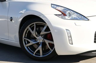 2013 Nissan 370Z Z34 MY13.5 Pearl White 6 Speed Manual Coupe