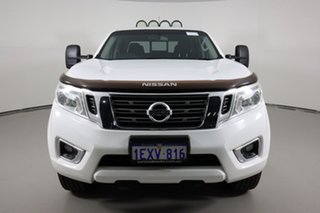 2015 Nissan Navara NP300 D23 ST (4x4) White 7 Speed Automatic Dual Cab Utility.