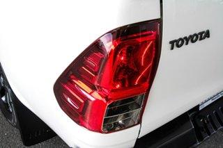 2018 Toyota Hilux GUN126R Rogue (4x4) Glacier White 6 Speed Automatic Dual Cab Utility