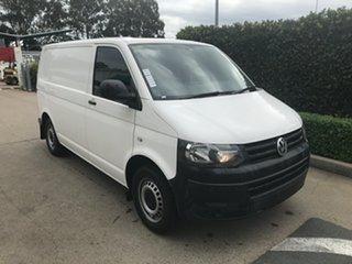 2015 Volkswagen Transporter T5 MY15 TDI340 SWB White 6 speed Manual Van.