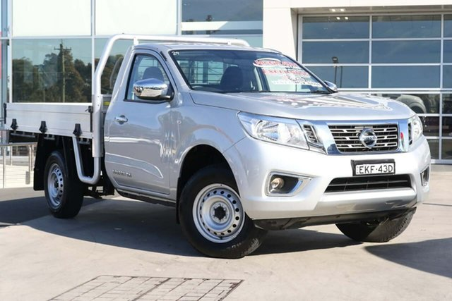 Used Nissan Navara D23 S4 MY19 RX 4x2 Liverpool, 2019 Nissan Navara D23 S4 MY19 RX 4x2 Brilliant Silver 6 Speed Manual Cab Chassis