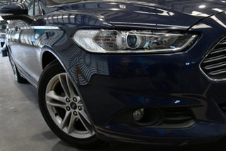 2016 Ford Mondeo MD Ambiente TDCi Extreme Blue 6 Speed Automatic Wagon.