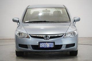 2007 Honda Civic 8th Gen MY07 VTi-L Silver 5 Speed Automatic Sedan.