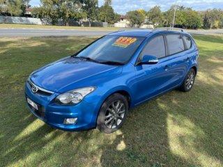 2011 Hyundai i30 FD MY11 Sportswagon cw Wagon Blue 4 Speed Automatic Wagon.