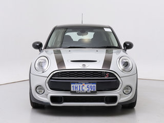 2016 Mini Cooper F55 S White Silver 6 Speed Automatic Hatchback.