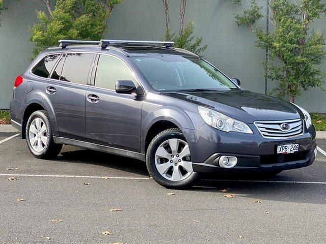 Used Subaru Outback B5A MY10 2.5i Lineartronic AWD Premium Templestowe, 2010 Subaru Outback B5A MY10 2.5i Lineartronic AWD Premium Grey 6 Speed Constant Variable Wagon